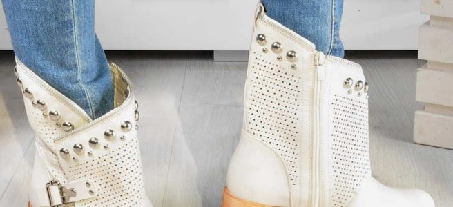 buty botki damskie